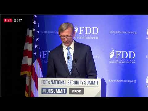 Special Representative Hook Delivers Keynote Remarks on Iran Policy at FDD