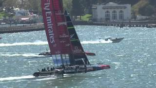 America's Cup : match race à haute vitesse !