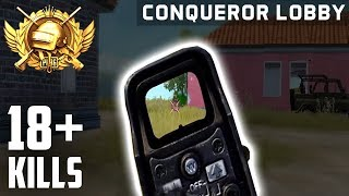 North American Conqueror: 18+ Kills - PUBG Mobile