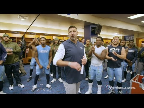 Inside Access: Mike Vrabel's Victory Speech