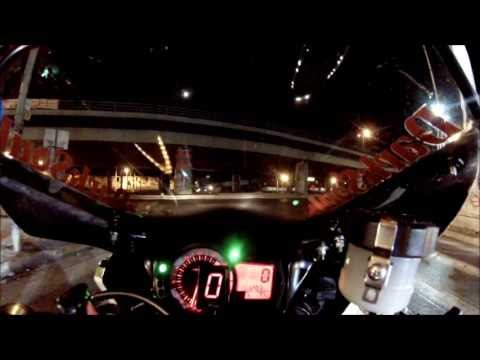Night ride in Athens onboard GSXR 750