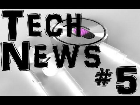 Tech News #5 | Mega, iSiri, Guerre de brevets