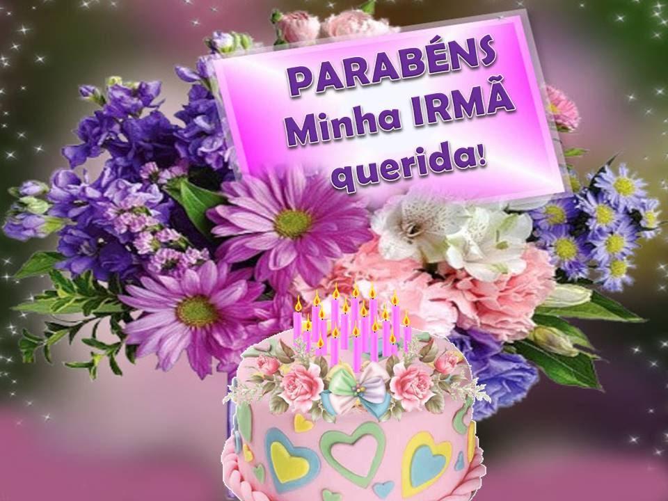 Feliz Aniversário Minha Cunhada Irmã: PARABÉNS MINHA IRMÃ!