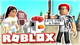A COUPLE THAT FARMS TOGETHER STAYS TOGETHER! - ROBLOX