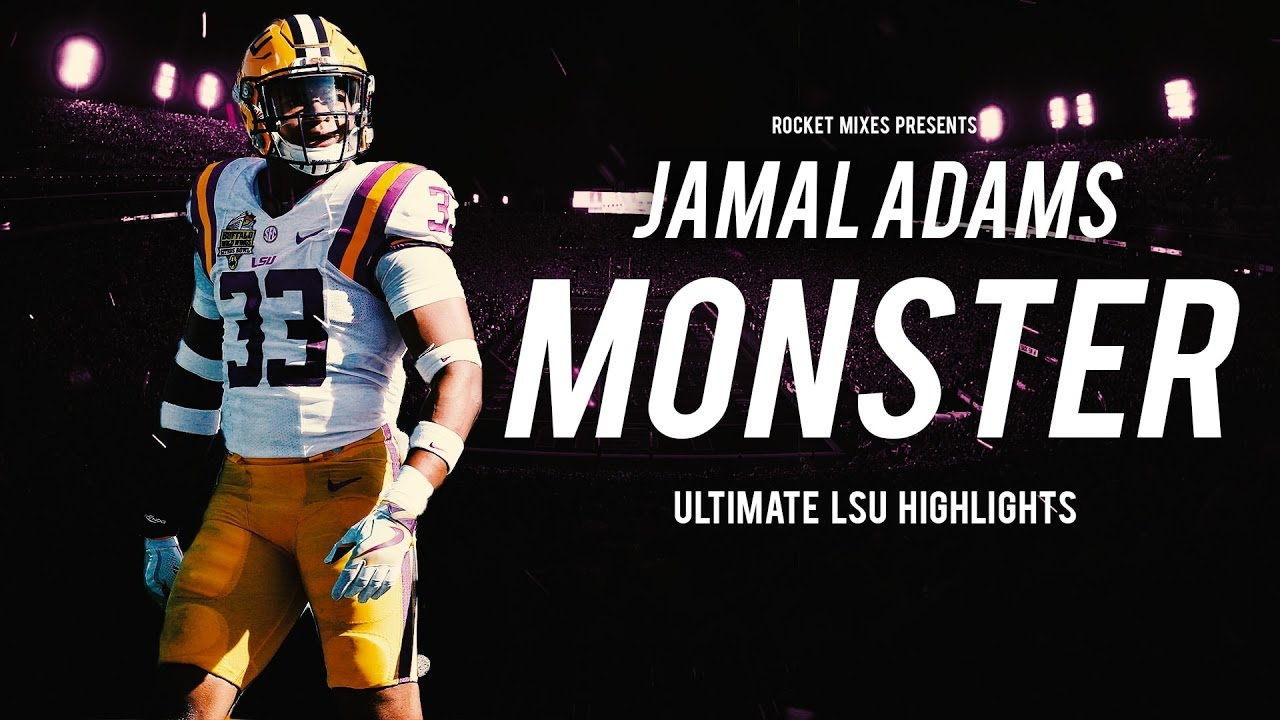 jamal adams college jersey