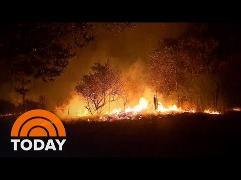 Wildfires Rage Across Northern California Wine Country; At Least 17 Dead | TODAY