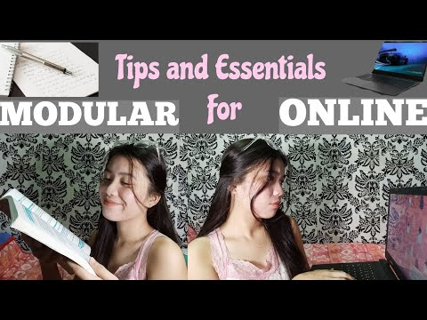 Tips And Essentials For Online And Modular Classes