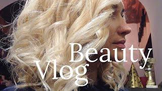 HAIR VLOG / Стрижка и Окрашивание в Блонд