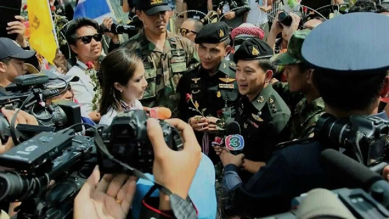 สื่อต่างชาติ กับการรายงานการชุมนุมของคนไทย Foreign media with reporting assembly of Thailand