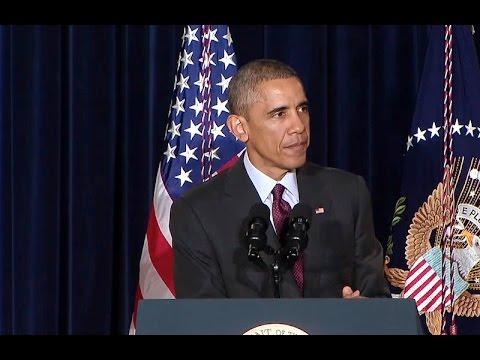 President Obama Speaks on the Fight Against Ebola
