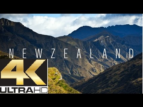 ♫♫♫ Beautiful Places of This Planet in Ultra HD ♥ New Zealand ♥ Nature ♥ Relax Music