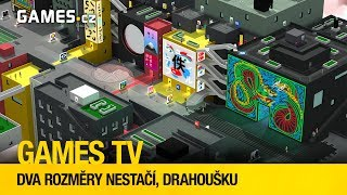 Games TV #12: Dva rozměry nestačí, drahoušku (Tokyo 42, FEZ, Starseed Pilgrim)