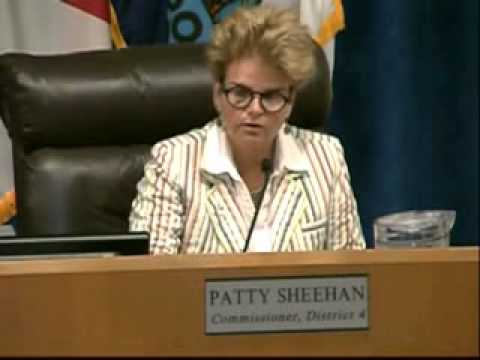 Commissioner Patty Sheehan Says Public Comment Should Be Televised