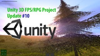 [Unity 3D] FPS/RPG Project Update #10 (Tons of Items)