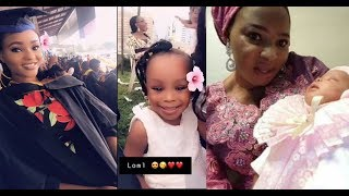 Late Moji Olaiya39s Pretty First Daughter graduates from Babcock UniversitySee Her Little Sister