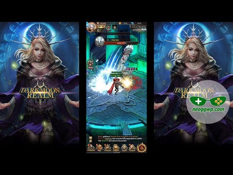 Darkmoon Realm (Android APK) - Idle RPG Gameplay, Warrior Lv.1-54