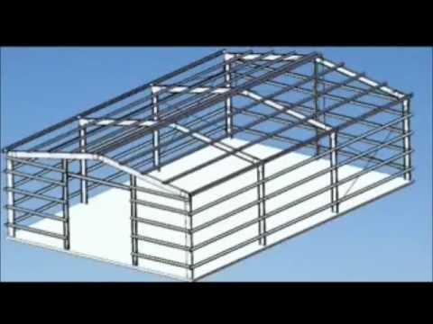 metal framing shed. Modren Framing How To Make A Portal Frame Shed Or Garage Intended Metal Framing O