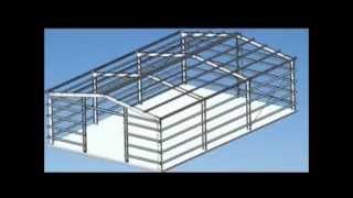 How To Make A Portal Frame Shed Or Garage