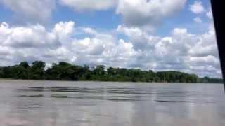 Navegando por el río Napo