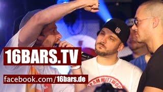 Unterwegs bei Rap Am Mittwoch: Damion Davis VS Gregpipe (16BARS.TV)