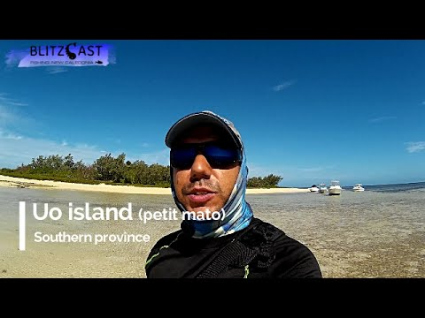 Ep 2 Camping & Fishing on an island in New Caledonia - Nouvelle Calédonie