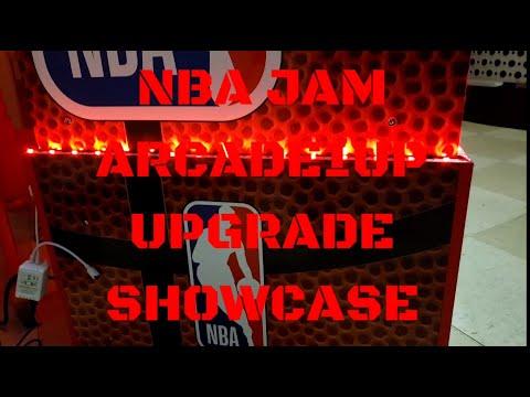 NBA Jam Arcade1up Upgrade Mod 2021 Update from Vaux Talks