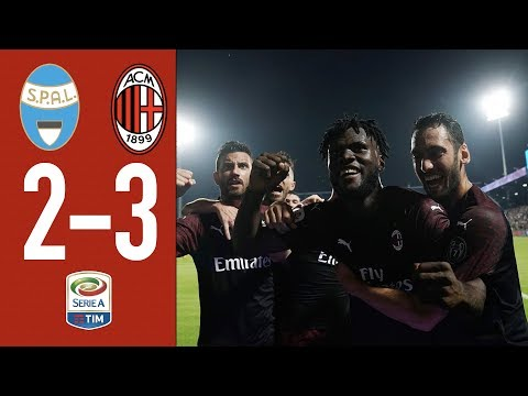 Highlights SPAL 2-3 AC Milan - Matchday 38 Serie A TIM 2018/19