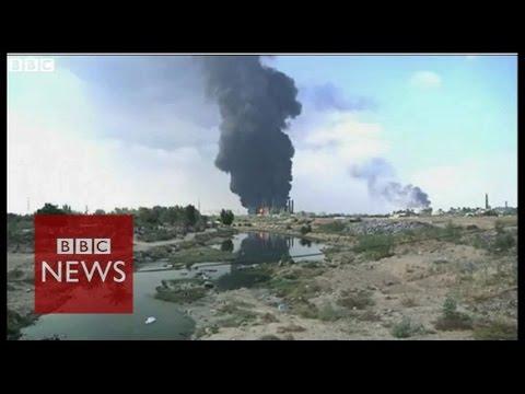 Gaza power station hit by Israeli shelling - BBC News