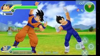 Como hacer la fuciones de Dragon ball z Tenkaichi Tag Team psp |ANDROID|