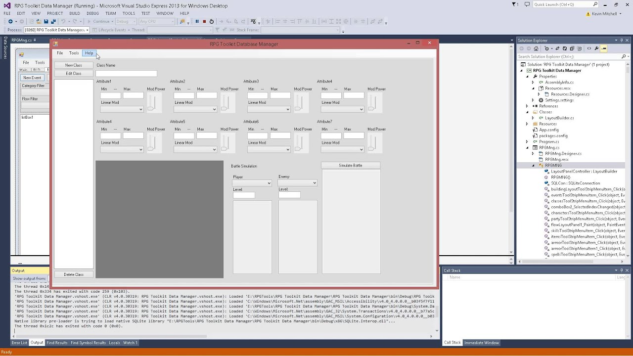 Unreal engine 4 rpg tool kit database manager interface youtube unreal engine 4 rpg tool kit database manager interface malvernweather Image collections
