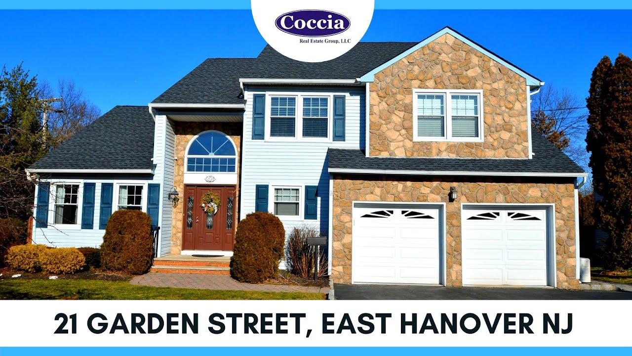 21 Garden Street   Homes for Sale East Hanover NJ   Morris County