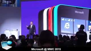Microsoft @ MWC 2015 - Lumia 640, Lumia 640 XL, Windows 10, Universal Apps