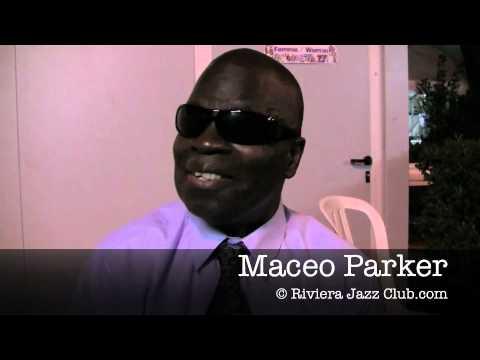 Maceo Parker Interview Festival Jazz à Juan