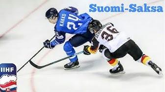 Jääkiekon MM 2019 Suomi-Saksa
