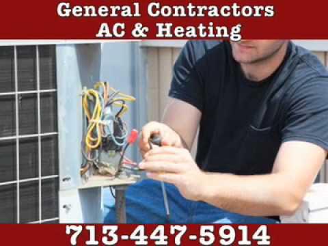 General Contractors A/C & Heating,  Houston TX