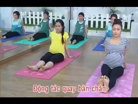 Những động tác thể dục rất tốt cho các phụ nữ mang thai