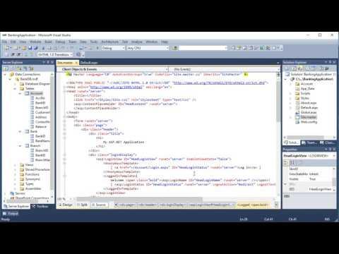 ASP.Net and C#.NET web application