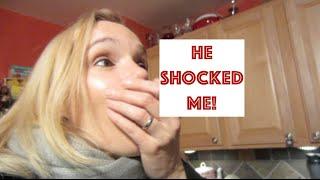 He Shocked Me!