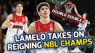 LaMelo Ball Picks Up A DOUBLE-DOUBLE Against REIGNING NBL CHAMPS! Almost Leads CRAZY COMEBACK! 🤯
