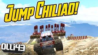 GTA 5 Custom Job Showcase: Monster Truck Jump! - Episode 38