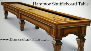 Hampton Shuffleboard Table By Olhausen Call 480-792-1115 Quote & More Information