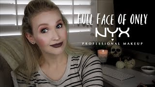 Full Face of NYX Products