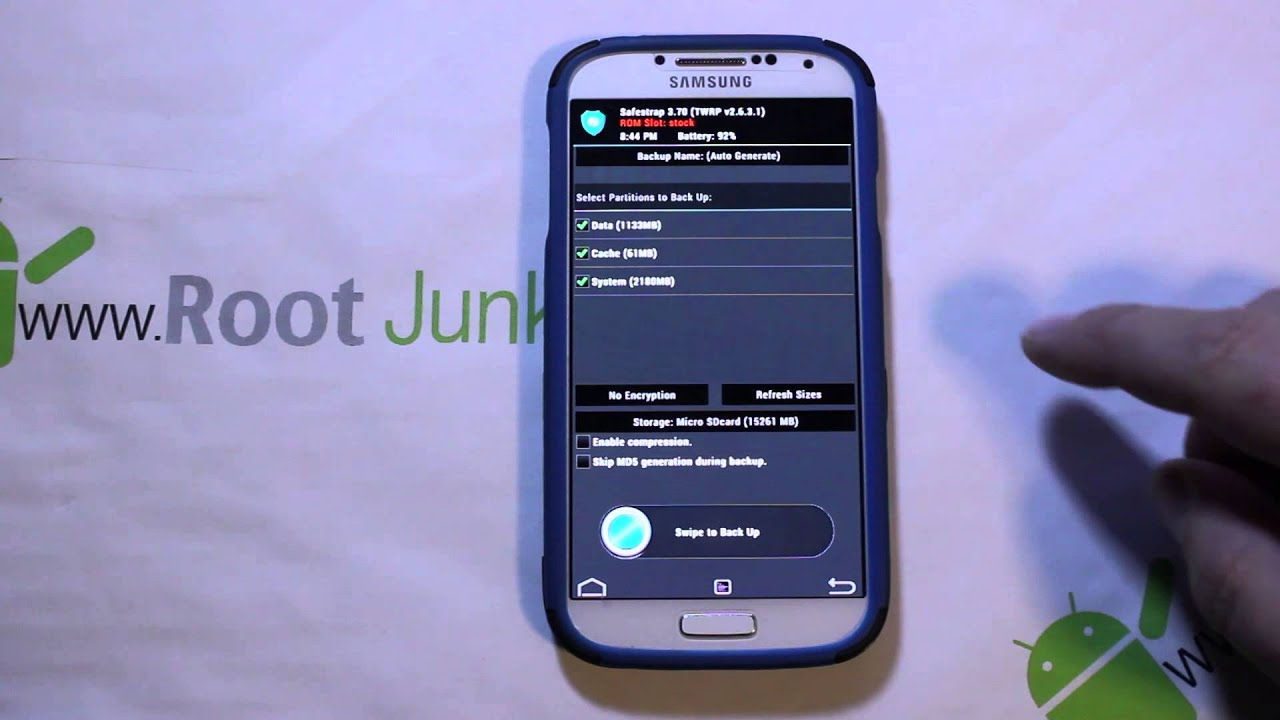 Galaxy S4 Safe Strap recovery on MJ7 and MK2