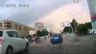 Кемерово   после ливня   Пион Бульвар