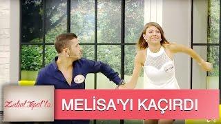 Zuhal Topal'la 2. Bölüm (HD) | Melih, Melisa'yı Elinden Tutup Stüdyodan Çıkardı!