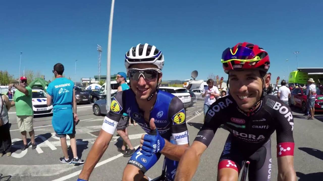 La Vuelta a España 2016: Stage 3 on-board highlights