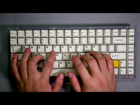 TGR 910 RE typing test by dyrdevil