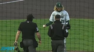 Tulane Pitcher Accused of Using Pine Tar, a breakdown