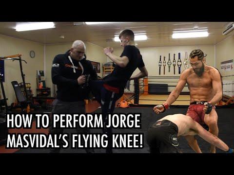How to Perform Jorge Masvidal's Flying Knee! | with JJ & Brad Scott
