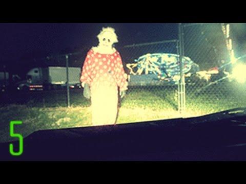 5 Creepiest Clown Sightings